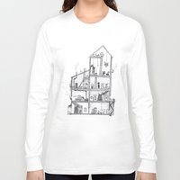 home sweet home Long Sleeve T-shirts featuring Home Sweet Home by Zorko
