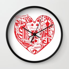 isabelle Wall Clock