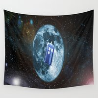 dr who Wall Tapestries featuring dr who by store2u
