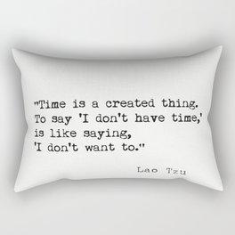 Lao Tzu quote Rectangular Pillow