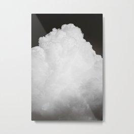 Black Clouds III Metal Print