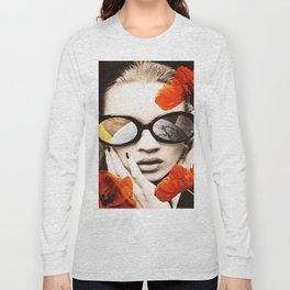 poppy pop (kate Moss) Long Sleeve T-shirt