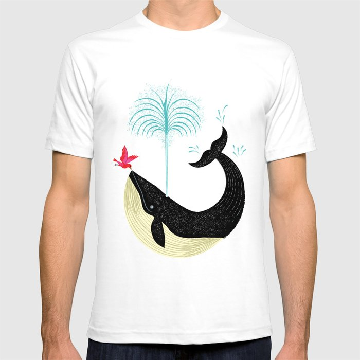 The Bird and The Whale T-shirt
