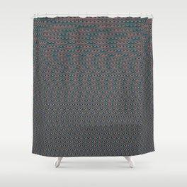20Hz - 20kHz Sine Wave Sound Chirp Shower Curtain