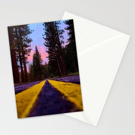 Down the Old Cabin Road Stationery Cards