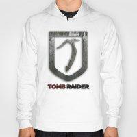tomb raider Hoodies featuring Tomb Raider by Liquidsugar