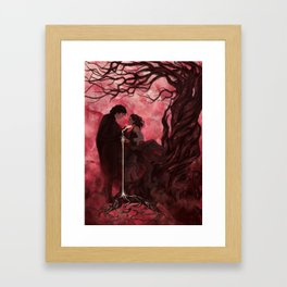 Bleak: The Duality of Balance project by reyloanthology Framed Art Print