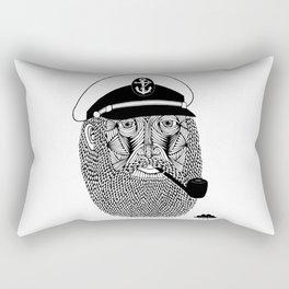 Captain Monkey Pants Of The Sea Rectangular Pillow
