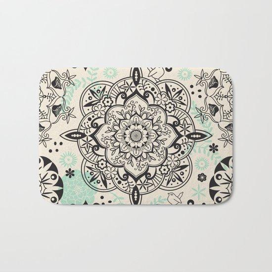 Mandala pattern Bath Mat