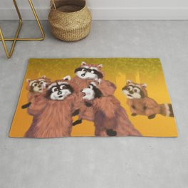 Raccoon Series: What's Going On? Rug