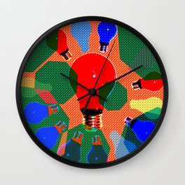 FESTIVE LIGHTS Wall Clock