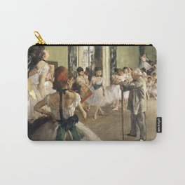 The Dance Lesson - Edgar Degas Carry-All Pouch