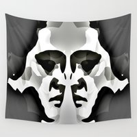 elvis presley Wall Tapestries featuring ELVIS ? by KrisLeov