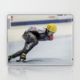 Charles Hamelin, Olympic Champion, Official Action Laptop & iPad Skin