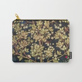 William Morris Tree Of Life Carry-All Pouch