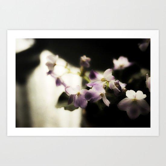 Violet Vortex Art Print