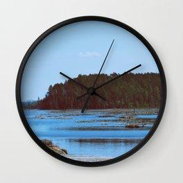 Boreal man Wall Clock