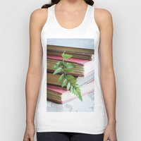 study Tank Tops featuring Botany Study by Colleen Farrell