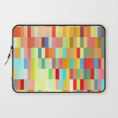 colorful rectangle grid Laptop Sleeve