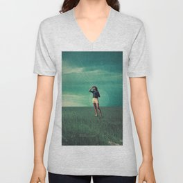Loved the way You once looked upon Tomorrow Unisex V-Neck