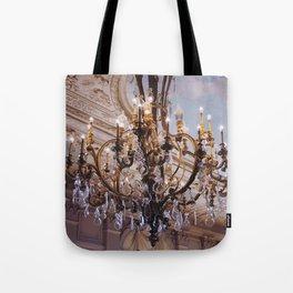 Chandelier, RI Mansion  Tote Bag