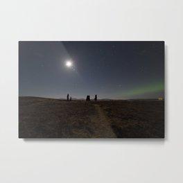 Callanish IV aurora Metal Print