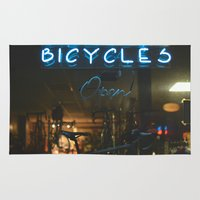 bicycles Area & Throw Rugs featuring Bicycles   by {she tells stories}