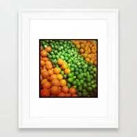 misfits Framed Art Prints featuring Misfits by Shipwreck Moon Designs