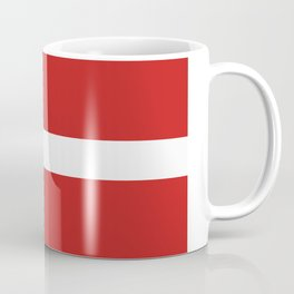 Denmark flag Coffee Mug