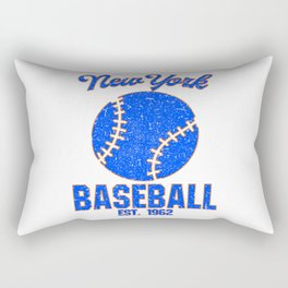 New York Baseball USA Gift Present Idea Rectangular Pillow