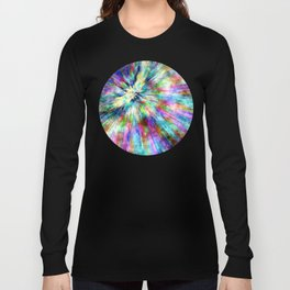 Colorful Tie Dye Watercolor Long Sleeve T-shirt