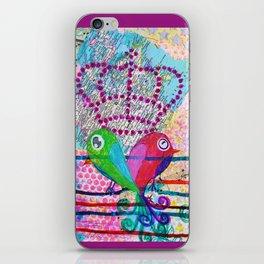 Royals - Quirky Bird Series iPhone Skin