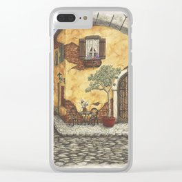 Italian Archway Clear iPhone Case