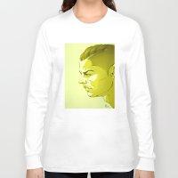 ronaldo Long Sleeve T-shirts featuring Cristiano Ronaldo by nachodraws