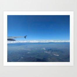La Cordillera Art Print