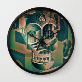 Utopia Skull 1 Wall Clock