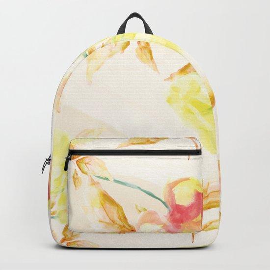 Delicate Floral Pattern 06 Backpack
