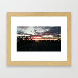 Another Sunset Framed Art Print