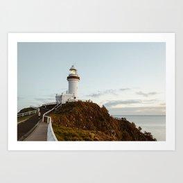 Byron Bay Lighthouse Art Print