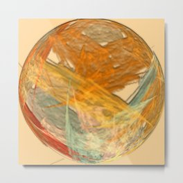 Original Abstract Duvet Covers by Mackin & MORE Metal Print