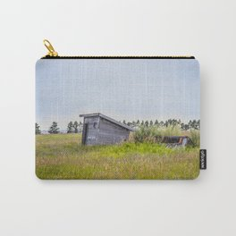 Outhouses, Palmgren Township School, North Dakota 1 Carry-All Pouch