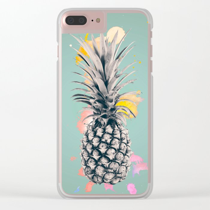 PINEAPPLE 5 Clear iPhone Case
