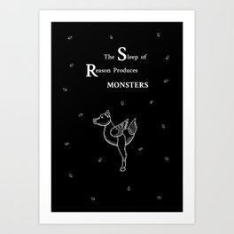 The Sleep of Reason Art Print