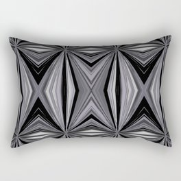 Monochromatic Diamond Rectangular Pillow