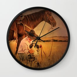 My Two Best Friends Wall Clock