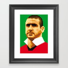 King of kickers Framed Art Print