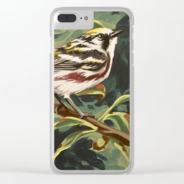 Chestnut-sided Warbler Clear iPhone Case
