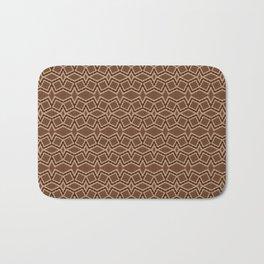 Brown Tilt-A-Block Bath Mat