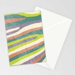 Fruit Stripes. Stationery Cards