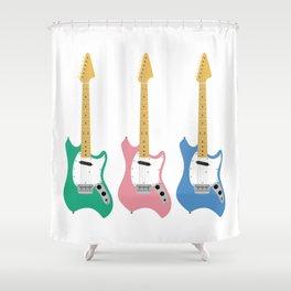 Strumming the guitar! Shower Curtain